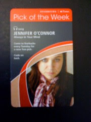 Starbucks iTunes Pick of the Week - Jennifer O'Connor - Always In Your Mind