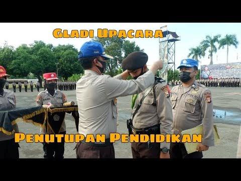 Gladi Upacara Penutupan Pendidikan Siswa Diktuk Bintara Polri TA. 2020/2021 SPN Polda Sulawesi Selatan