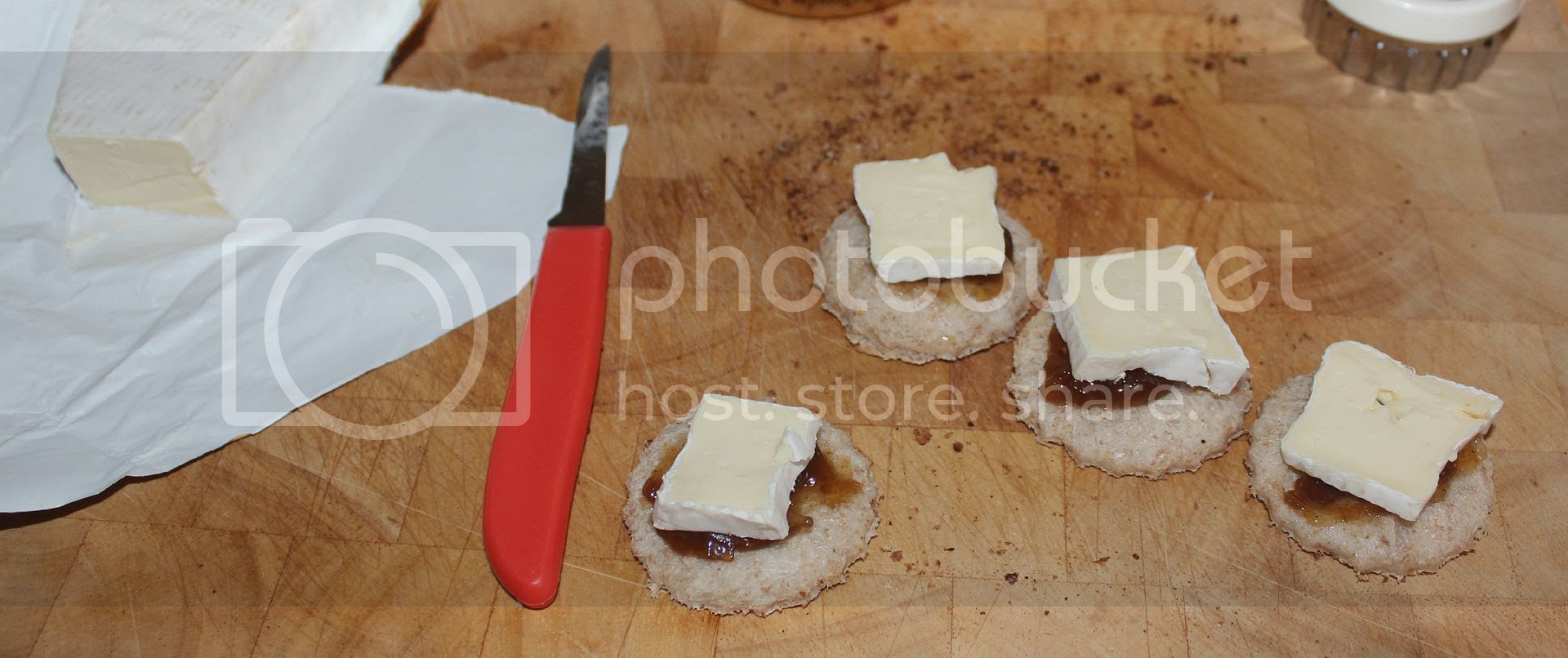 making posh cheese on toast