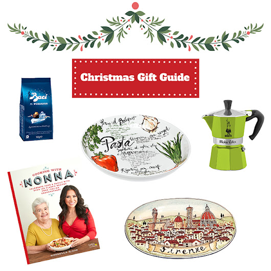 The perfect Christmas gift guide for Italy Lovers - Home & Food Edition