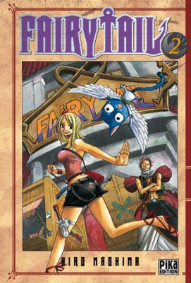 Couverture Fairy Tail, tome 02