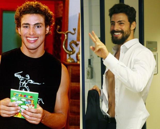 Em 2002, Cauã Reymond estreava na TV com o personagem Mau Mau (Foto: CEDOC / TV Globo / Carol Caminha / Gshow)