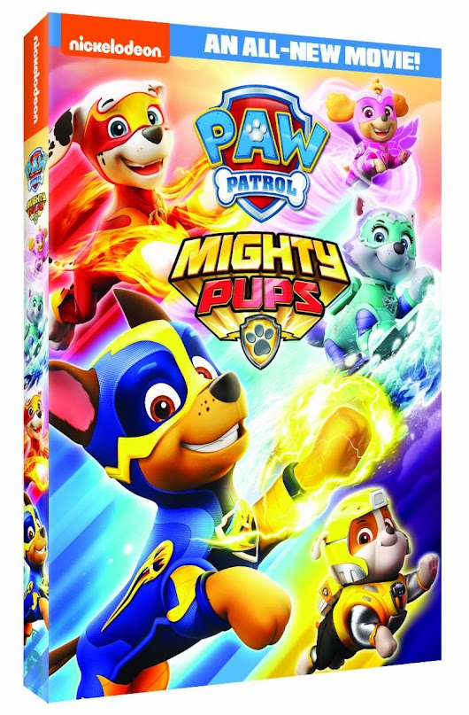 Paw Patrol: Mighty Pups DVD - GIVEAWAY - Simple Mom Review
