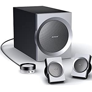 Bose Companion 3 - 2.1-channel PC multimedia speaker system - black, silver