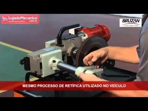 TORNO PARA RETIFICAÇÃO DE DISCO DE FREIOS COM CARRINHO DE TRANSPORTE TP32 BRUZAN