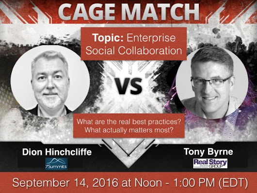 Sep 14 - Live Town Hall Debate on Enterprise Social-Collaboration ...