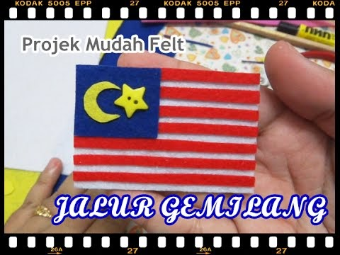 Merdeka No Sew Simple Project Video