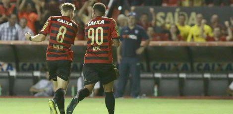 André (90) marcou dois dos três gols do Leão na partida / André Nery/JC Imagem
