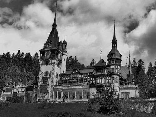 mortisia:  Peles Castle DOES THIS CASTLE HAVE A CREEPY HISTORY? HAVE BODIES BEEN FOUND OVER THE YEARS? ARE THE HALLS DARK WITH SHADOWS? DO PEOPLE DISAPPEAR—NEVER TO BE SEEN AGAIN? IT MIGHT AS WELL HAVE A DARK HISTORY SINCE I CAN SEE IT IN MY MIND'S EYE.