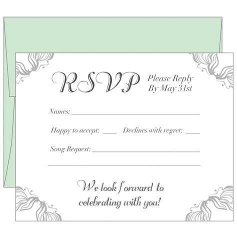 Wedding Response Cards Printing UK   Print RSVP Card London