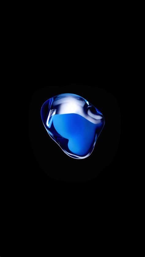 blue blob wallpaper   iphone  ads iphone ipad