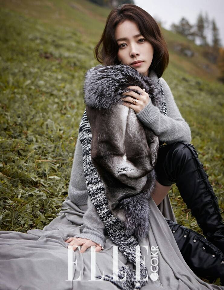 Han Ji Min - Elle Magazine November Issue '14