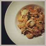 tortellini mit paprika und fenchel in senf-sahne-soße