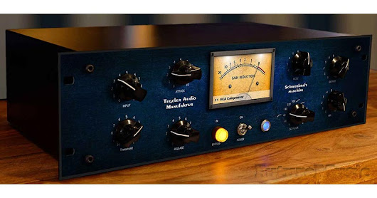 Tegeler Audio Manufaktur Unveils The Schwerkraftmaschine Compressor | FutureMusic the latest news on future music technology DJ gear producing dance music edm and everything electronic