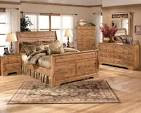 Country Bedroom Style White Furniture Set - Home Decor - 14523