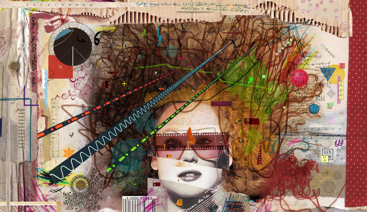 collage Portrait by SAOUD-ALJEDI