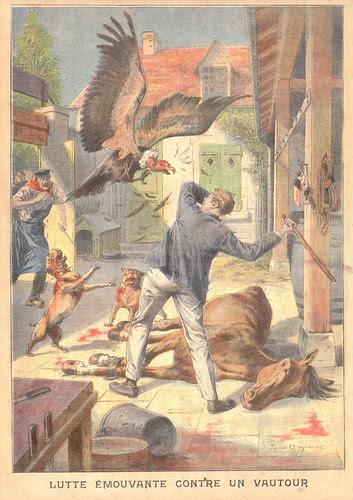 petit parisien 25 juillet 1909 dos