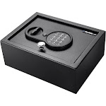 Barska .21CF Top Opening Keypad Safe, Size: Small, Black
