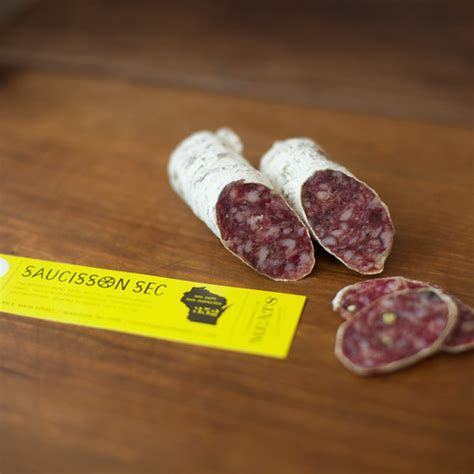 Saucisson Sec   Underground Meats