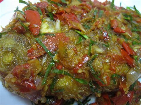 ikan tilapia merah goreng berlada resepi suami