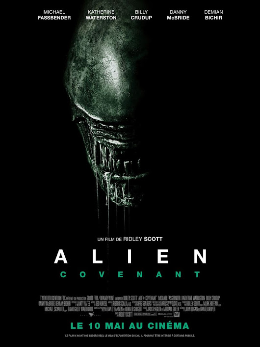 Critique du film Alien Covenant de Ridley Scott avec Michael Fassbender, Katherine Waterston, Billy Crudup - Cine-toile.com