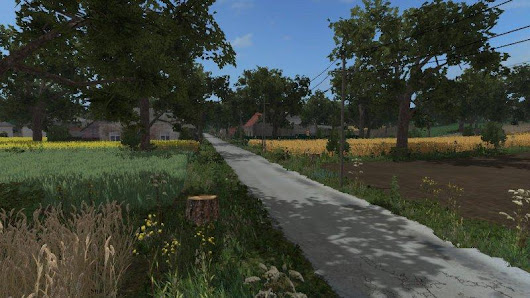 Bolusiowo v2.0 MafiaSolec edit piotrek buyable fields FS17 - Farming Simulator 17 mod / FS 2017 mod