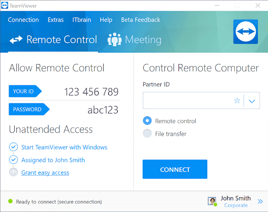 TeamViewer – Access your computer remotely and share your desktop with friends – it's free for private use!