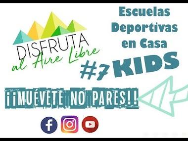 COMO HACER DEPORTE EN CASA CON NIÑOS. #SESIÓN7