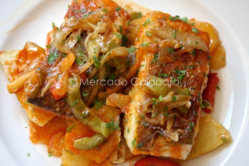 Bacalao al horno paso a paso mercado calabaj o for Como cocinar bacalao al horno