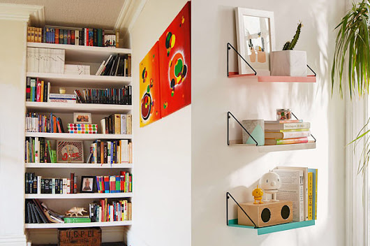 25 Amazingly Clever Ways To Display Books In Your Home