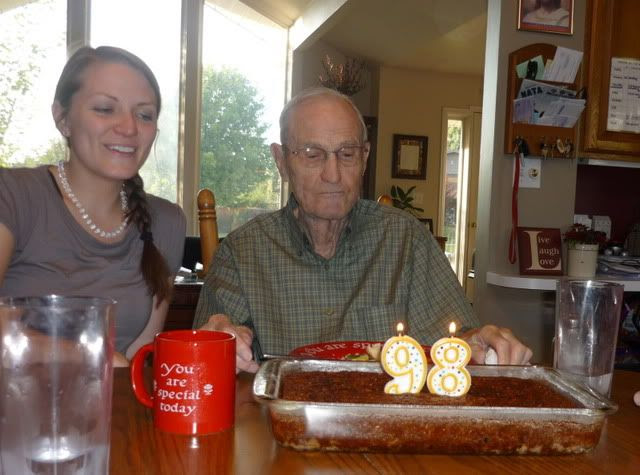 Uncle Al's 98th Birthday, Sept. 2011