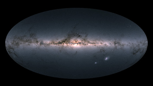 You Are Here: Scientists Unveil Precise Map Of More Than A Billion Stars