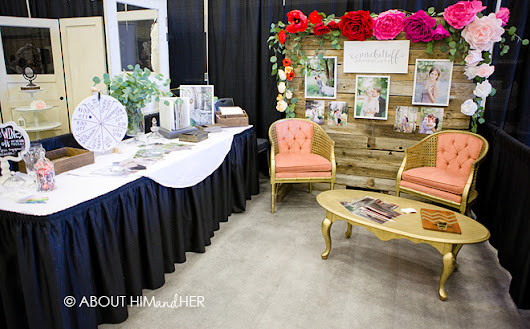 about him + her: Bridal Fair