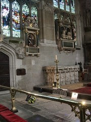 Shakespeare's tomb at Holy Trinity Church