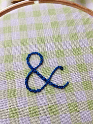 Stitched Letting Tutorial