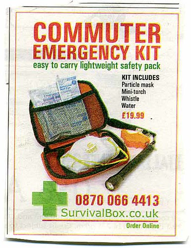 Commuter Survival Pack from Ralf The Cartoonist's blog