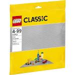 LEGO 10701 Classic Baseplate, Gray