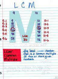 LCM Math Journal
