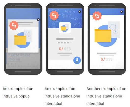 SEO: Google's Mobile Update to Impact Interstitials, Pop-ups