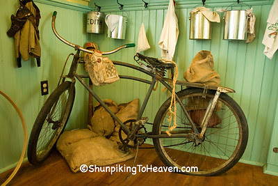 Antique Bicycle, Lunch Pails and Lunch Sacks, Jackson County, Iowa