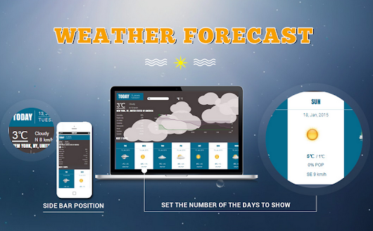 Joomla Weather Forecast Configuration Guide
