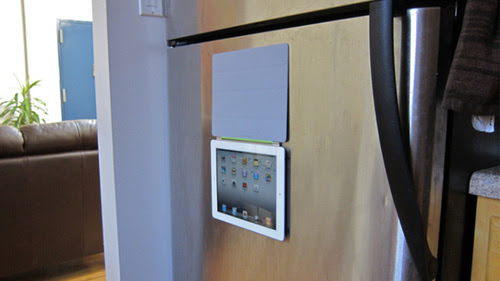 Whoa! Your New iPad Will Stick To Your Fridge