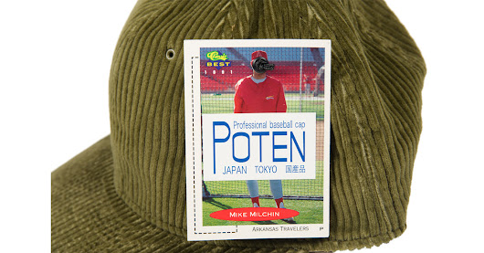 Poten's First Swing at Japanese Baseball Hats is a Home Run