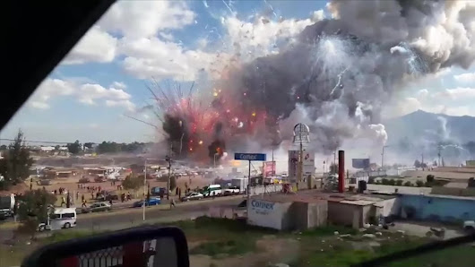 Mexico explosion: At least 29 killed in fireworks blast