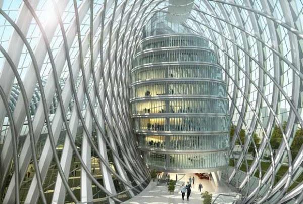 phoenixmedia2 600x404 14 Futuristic Building Designs in China