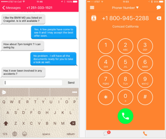 25 Android and iPhone Second Phone Number Apps for Business Only Calls - Phoner