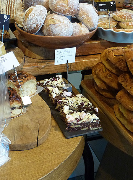 rocky road and bakewell tarts