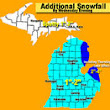 Michigan weather update: How much more 'snowman' snow will fall?