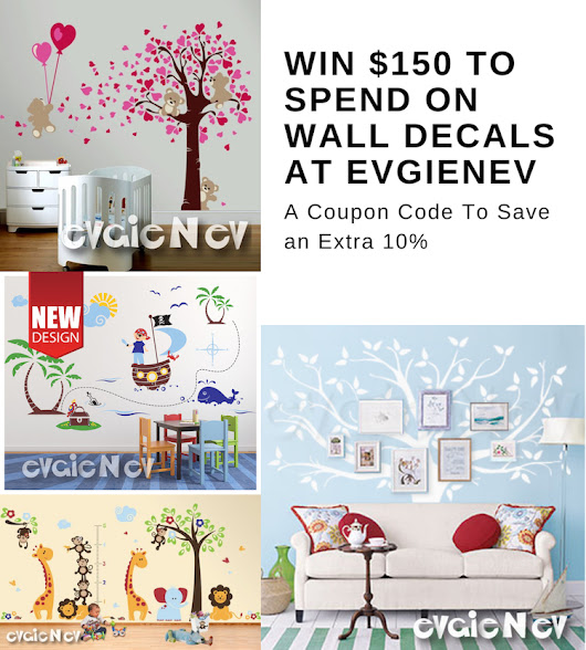 #Win $150 To Spend On Wall Decals At EvgieNev, Open WW, 8/16