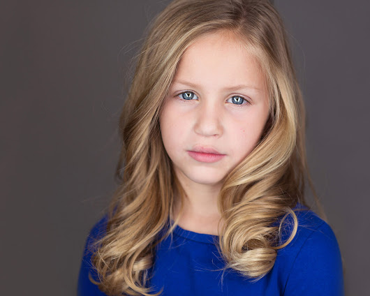 Headshot Photography Session with Child Actor Faith Healey